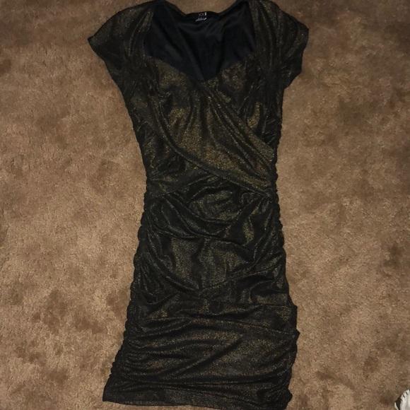 Forever 21 Dresses & Skirts - Tight metallic dress